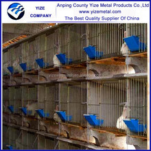 Best selling fattening rabbit cage/breeding/female/male rabbit cage/hutch (Factory)