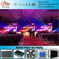 RGX P97 Professional manufacturer of P6 indoor led display rental for show stage