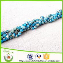 Blue Sky howlite piedra 6 mm DIY granos redondos precio