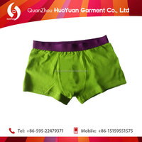 High quality mix size and colors lovely sex fat men xxl best underwear of cotton elasti Huoyuan factory