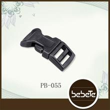 high quality popular contoured plastic curved buckle