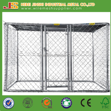 Heavy duty High quality Hot dipped galvanized large Chain link mesh Dog kennels