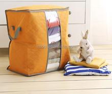 non woven fabric foldable storage box bamboo charcoal bag