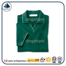 Fashion v-neck polo t-shirt manufacture