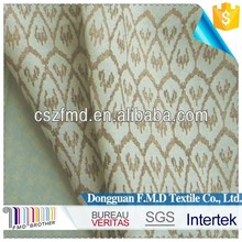 Printed 100 flax linen fabric