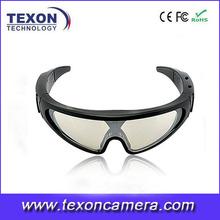 720P 1080P skiing sunglasses camera dvr TE-661