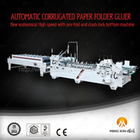 box sticking machine for corrugated paper for carton making