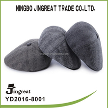 The new style Middle-aged and old felt trilby Thickening protective ear cap