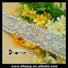 Wholesale Fashion Bridal Dress Crystal Rhinestone Belt For Wedding DH-1948