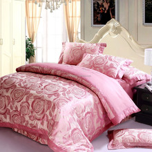 luxury silk bedding sets with high quality mulberry silk satin bedding set