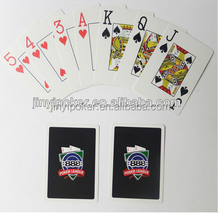 trade assurance supplier 100% plastic poker cards print