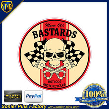 Special design Metal car sticker, car decal for promotional gifts