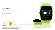 young kid school security Caref GPS Tracking SOS phone Smart talking Gator Watch IP67 sole agent Android, iOS, app