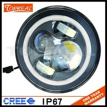2015 new product Good quality 7inch Round led headlight for jeep