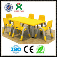 Hot sale used daycare furniture, modern furniture, daycare center furniture kids plastic table and chairs