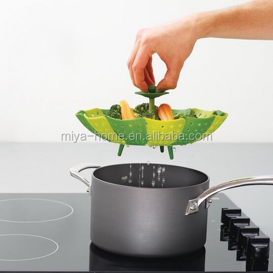 pliage silicone v g tale alimentaire panier cuisine vapeur appareil de cuisson vapeur id de. Black Bedroom Furniture Sets. Home Design Ideas