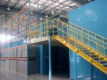 Rack de armazenamento de garagem sobrecarga plataforma mezanino