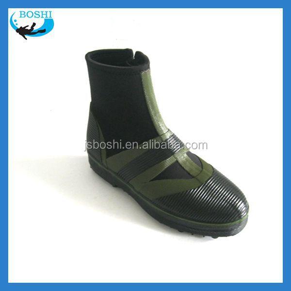 Waterproof neoprene rubber fishing boots manufacturer for Rubber fishing boots