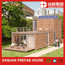 20ft Flat Pack low cost prefab container house homes, prefabricate container steel structure house