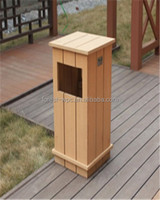 garbage can wpc composite wood decking pergola fence tile wood substitute