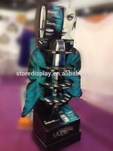 punto de venta de productos cosméticos expositores para publicidad de sombra de ojos de surtidor de china