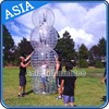 Transparent bubble soccer, Good surface quality inflatable bumperz bubble football for sale