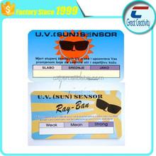 uv sensor card for UV test good for your health