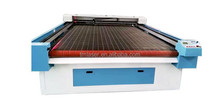 1800x2500mm flated co2 laser cutting machine with red dot pointer