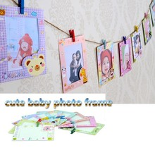 C74 6 inch 9 cartoon picture latest design of baby photo frame