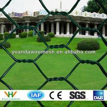 galvanized pvc coated Hexagonal Wire Mesh (Chicken Wire) (ISO9001:2000)