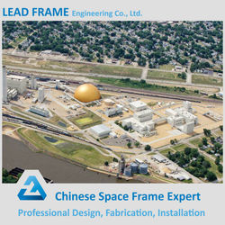 Steel Space Frame Roofing Coal Storage Thermal Power Plant