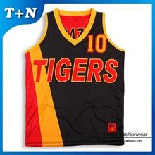 2015 latest basketball jersey designs/custom sublimation basketball jersey/team sports jersey