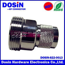 High quality 7/16 Din plug male L29 Plug male adaptor to N male plug connector straight adapter