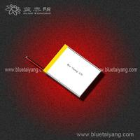 Customized tablet pc replac battery 5V 604554 1560mAh