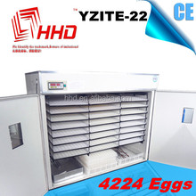 2015 CE approved integration of full automatic egg incubator for sale made in China