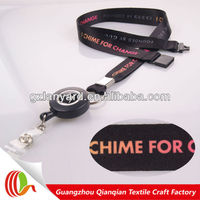 Novelty products chinese badge reel breakaway bling lanyards wholesale