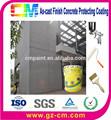 Textura rolo de pintura concret muro de proteção decoração de construção revestimento externo