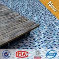 Foshan jy-sw-02 factory outlet de alta qualidade branco mix azul azulejos mosaico piscina pobre mosaicos