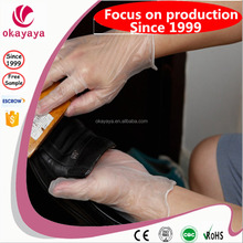 2015 Hot Sales latex glove powder free food grade gloves cheap vinyl gloves