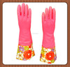 High quality the girls in extra long sleeve latex and rubber gloves manufacturer