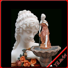 Natural Stone Marble Water Fountain For Garden YL-P150