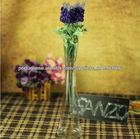 claro handmadevase florero de cristal florero