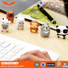 Promotional customised OEM 2d/3d 2GB cartoon silicone rubber flash drive carry usb case