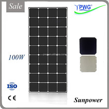 100W Solar Panel on Sale, High Efficient Production Line, Aluminum Bracket Sola Kit