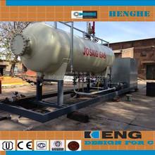 Lpg tank for filling station