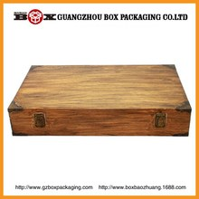 wholesale high quality antique wooden box for fruit