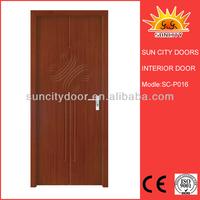 Commercial mdf door with bathroom door lock