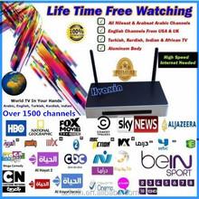 Original iptv 800 add call function hd iptv live free channels(Arabic, English,Turkish,Indian, African) tv HD800--No month Fee