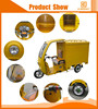 Hot selling bajaj auto taxi tricycle with closed cabin