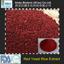 High Quality 0.4% Monacolin K Red Yeast Rice Extract Powder